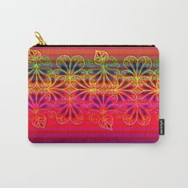 Playing With Stripes Carry-All Pouch