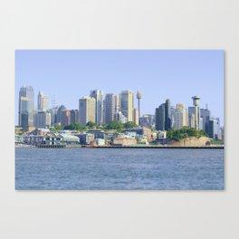 Sydney cityscape Canvas Print