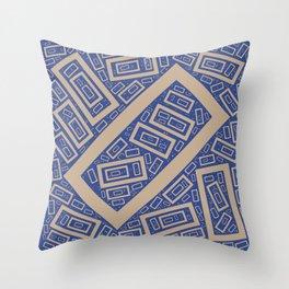 Rectangle Pattern Throw Pillow