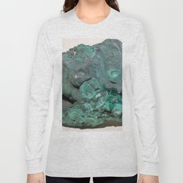 Natural Malachite Long Sleeve T-shirt