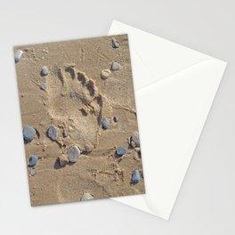 Pebbly Beach Walk Stationery Cards