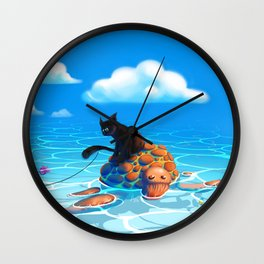 A hot summers day Wall Clock