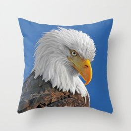 Who's Down There Throw Pillow