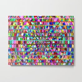 Decorative Colors Metal Print