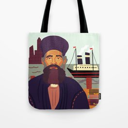 Land of Liberty, The Immigrant Tote Bag