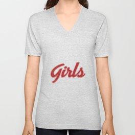 Girls From Friends TV Show Unisex V-Neck