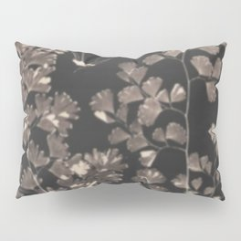 Black Maidenhair Pillow Sham