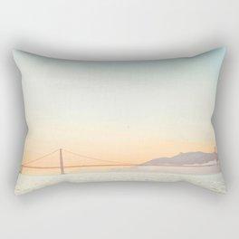 Pastel Golden Gate Rectangular Pillow
