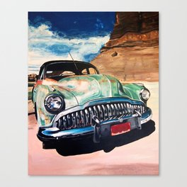 Beat up Holden Canvas Print