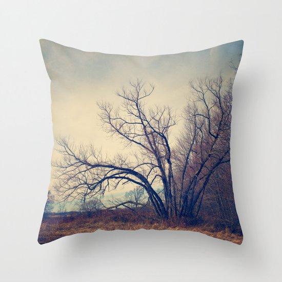 Family Tree Throw Pillow by Laura Ruth Society6