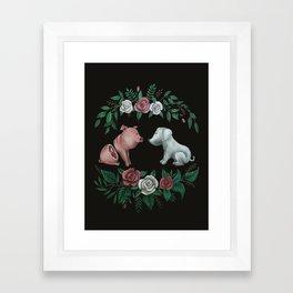 Fuck Speciesism Framed Art Print