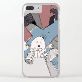 Humpty Dumpty's Free Fall Clear iPhone Case