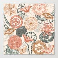 doodle Canvas Prints featuring doodle  by Ancello