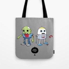 Zombie+Bot Tote Bag