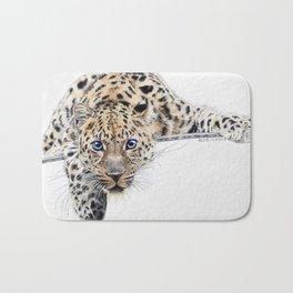 Local Eyes 'Leopard' Bath Mat
