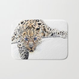 Local Eyes 'Leopard' Bath Mat