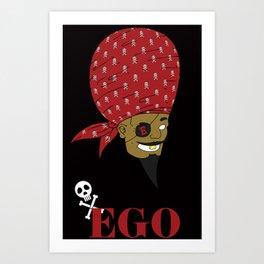 EGO Privateer Art Print