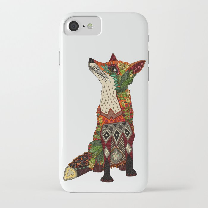 fox love off white iphone case