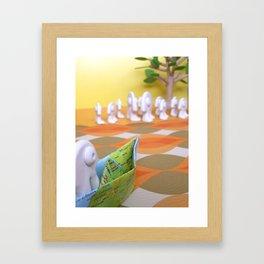 Le retour Framed Art Print
