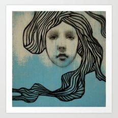#42 Spiral Art Print