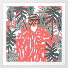 Goo-chi One Art Print