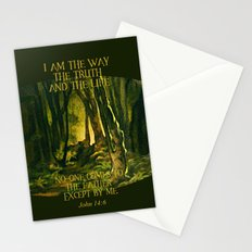 I Am The Way Stationery Cards