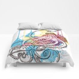 Octopus Ink Comforters