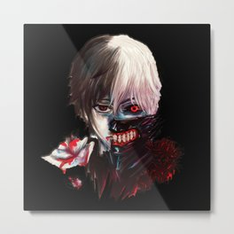 Kaneki Ken TokyoGhoul Perfect1 Metal Print