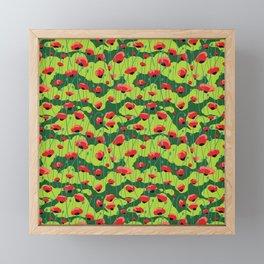 Poppy Framed Mini Art Print