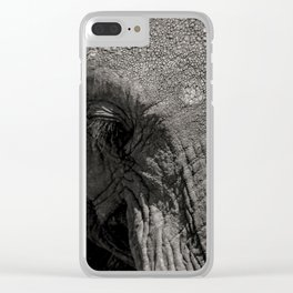 Old man Clear iPhone Case