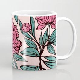 Sketchy Flowers Coffee Mug