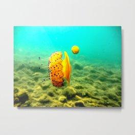jellyfish art Metal Print