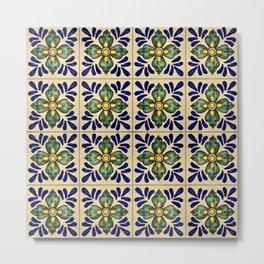 Tiles - V Metal Print