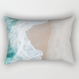 Ocean Mint Rectangular Pillow