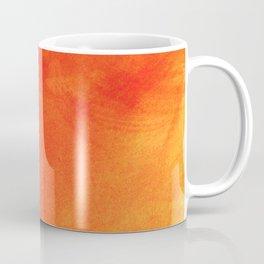 Pure Sunshine Orange and Yellow Abstract Watercolour Coffee Mug