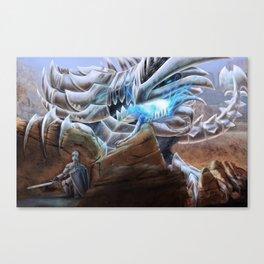Bladed Dragon Canvas Print