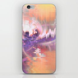 Cherry Blossoms Abstract iPhone Skin