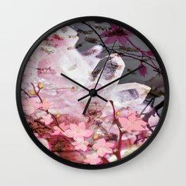Cabsink16DesignerPatternCWW Wall Clock