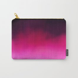 Purple and Black Abstract Carry-All Pouch