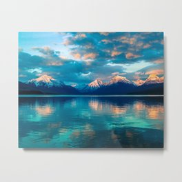 The Wandering Moun­tain Metal Print