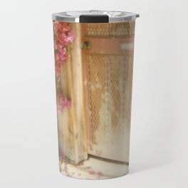 California Bougainvillea Travel Mug