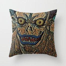 Note Ryuk Artistic Illustration Fractal Loop Style Throw Pillow