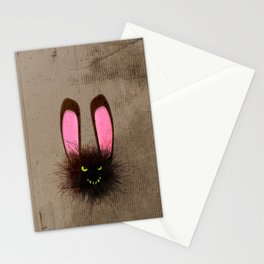 Evil Dust Bunny Stationery Cards