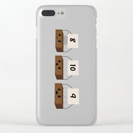 Brownie Points Clear iPhone Case