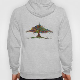 The Stained Glass Tree Hoody