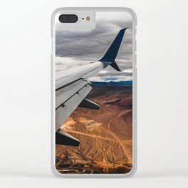 wing over mars Clear iPhone Case