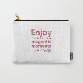 Enjoy Neutrino Magnetic Moments Carry-All Pouch