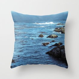 Pacific Blue Throw Pillow