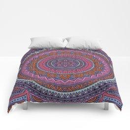 Hippie mandala 54 Comforters