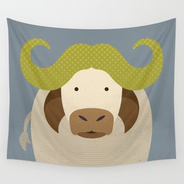 Whimsy Cape Buffalo Wall Tapestry